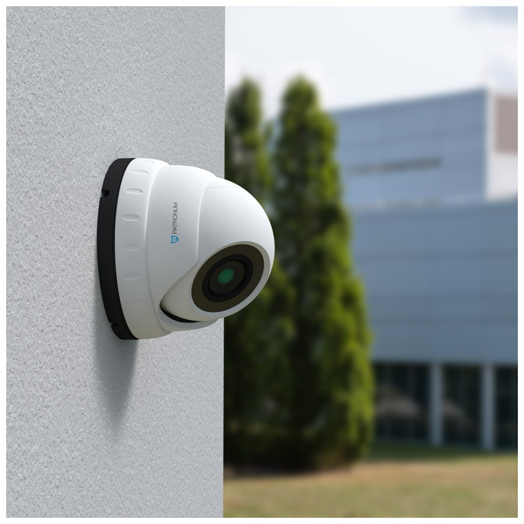 2.0Mpx AHD bezpečnostní kamera PATRONUM PR-D40AHDWT20MZV1