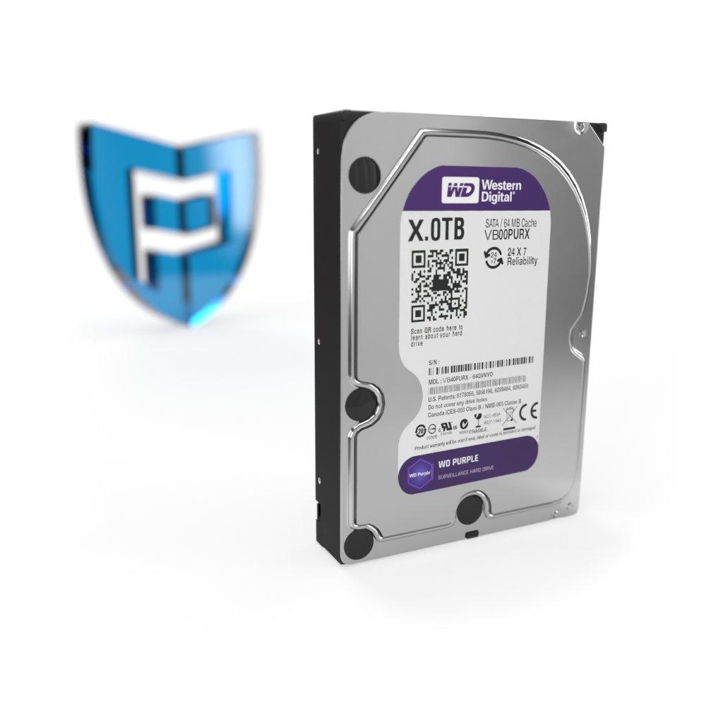 Pevný disk 8000GB WD PURPLE