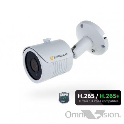 8.0Mpx IP bezpečnostní kamera PATRONUM PR-B25IPWT80FPOEV1
