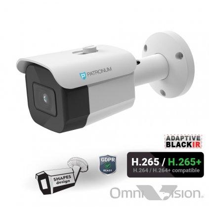 5.0Mpx IP bezpečnostní kamera PATRONUM PR-B30IPWT50FPOEV1