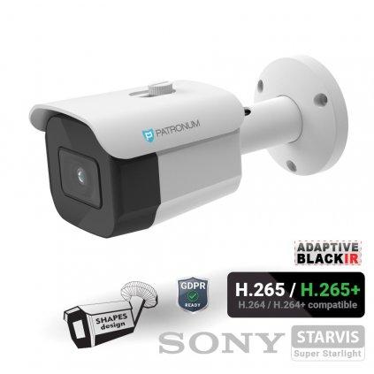 8.0Mpx IP bezpečnostní kamera PATRONUM PR-B30IPWT80FPOEV1