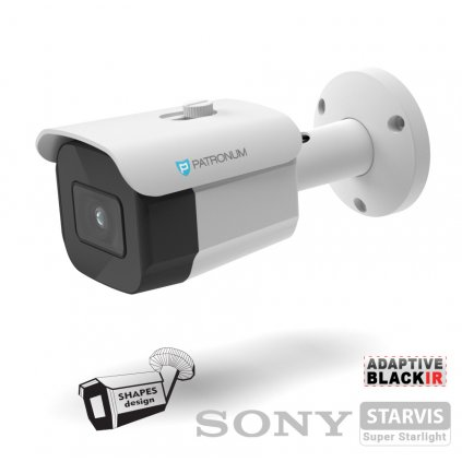 5.0Mpx AHD bezpečnostní kamera PATRONUM PR-B30AHDWT50FV1