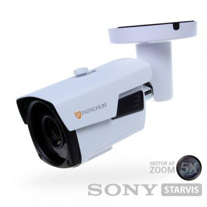 2.0Mpx AHD bezpečnostní kamera PATRONUM PR-B50AHDWT20MZFV1