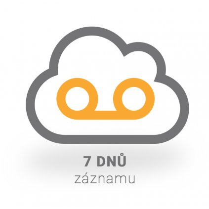 Virtuální IP rekordér PATRONUM na 7 dnů záznamu