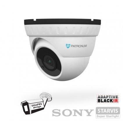 2.0Mpx AHD bezpečnostní kamera PATRONUM PR-D30AHDWT20FV1