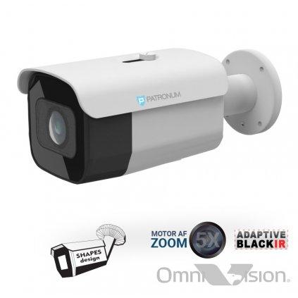 8.0Mpx AHD bezpečnostní kamera PATRONUM PR-B40AHDWT80MZV1