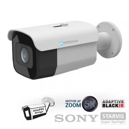 5.0Mpx AHD bezpečnostní kamera PATRONUM PR-B40AHDWT50MZV1