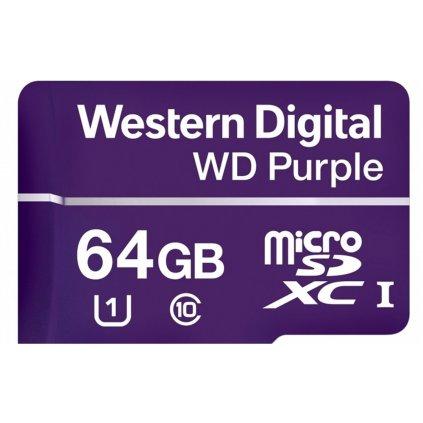 Paměťová karta WD PURPLE 64GB