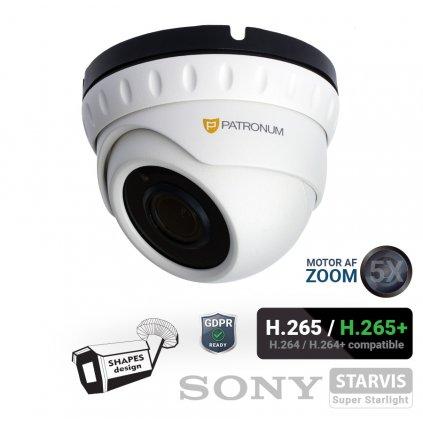 2.0Mpx IP bezpečnostní kamera PATRONUM PR-D40IPWT20ZPOEV1