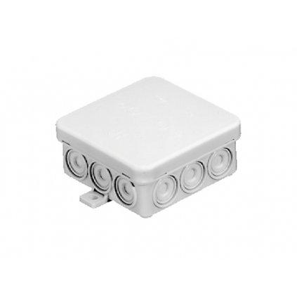 Bílá krabice 85x85x37mm