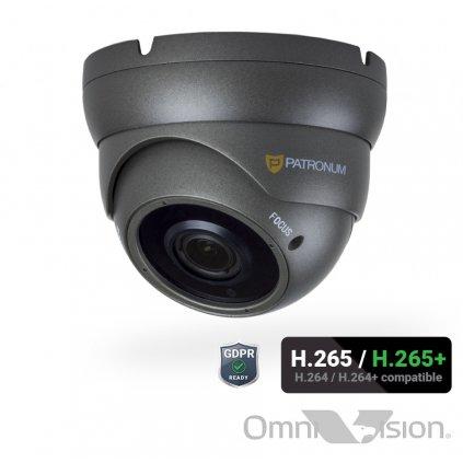 4.0Mpx IP bezpečnostní kamera PATRONUM PR-D40DKIP40