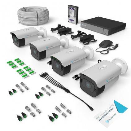 AHD Kamerový systém PATRONUM 4XB40
