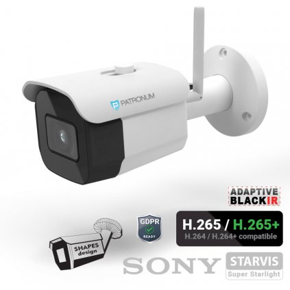 5.0Mpx IP bezpečnostní kamera PATRONUM PRB30IPWT50FWIFIV1