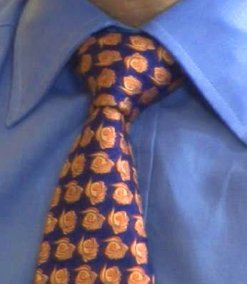 Uvázání kravaty na Prattský uzel Shelby