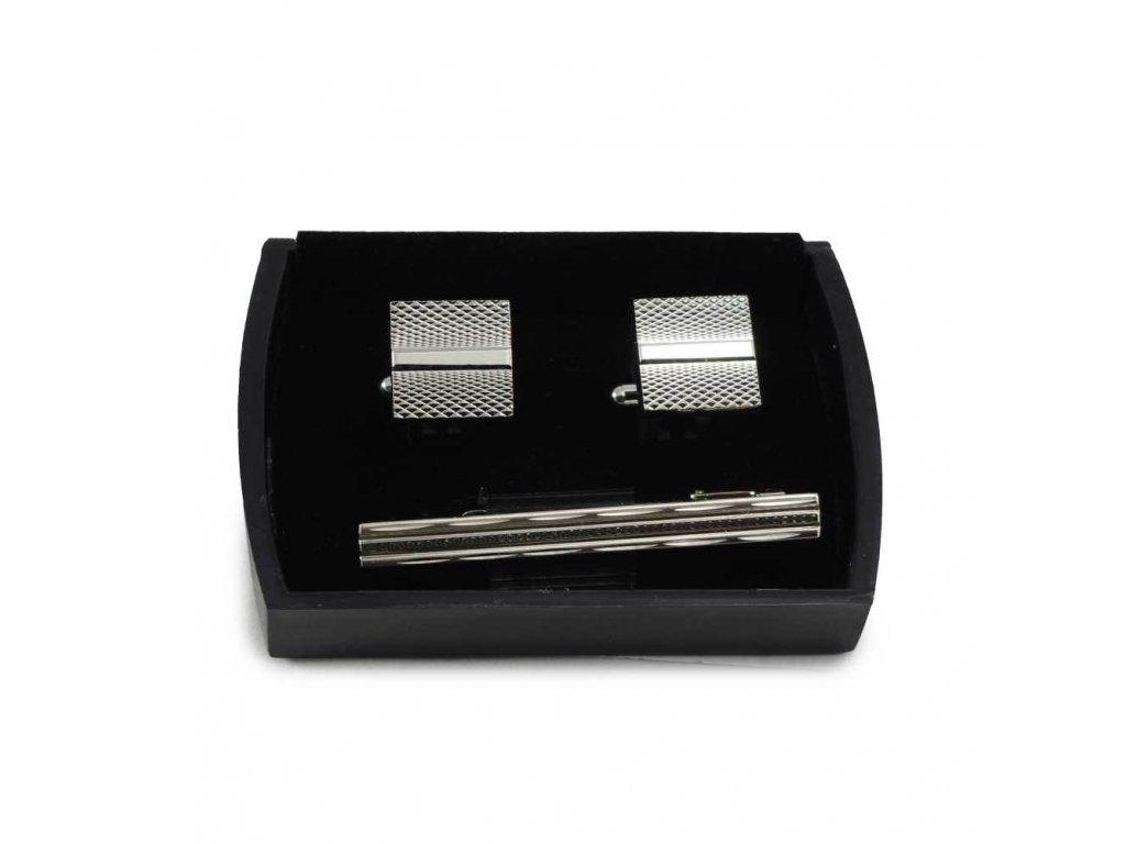 Manžetové knoflíčky ocelové  21015