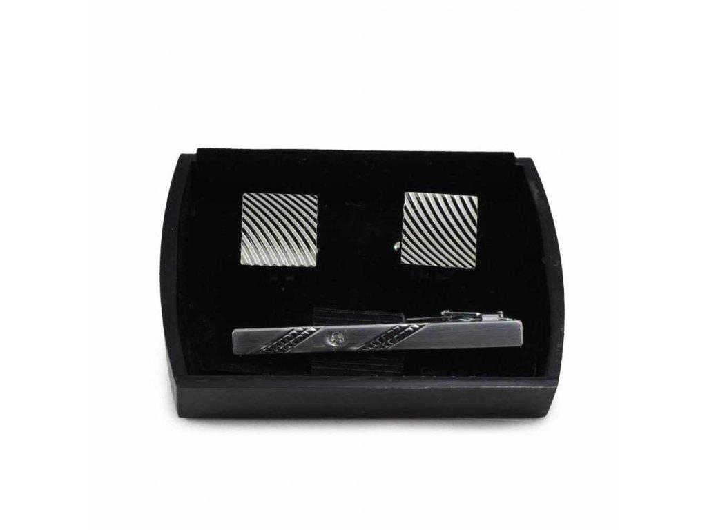 Manžetové knoflíčky ocelové  21016