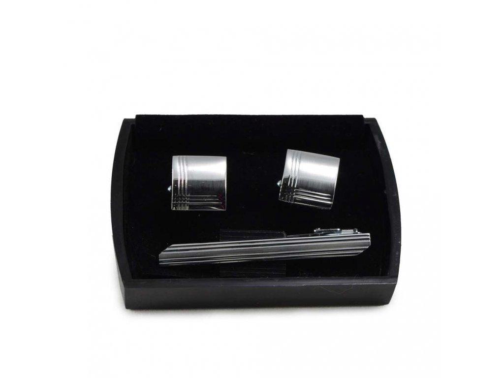 Manžetové knoflíčky ocelové  21022
