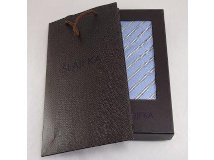 Dárková krabička na kravatu s taštičkou