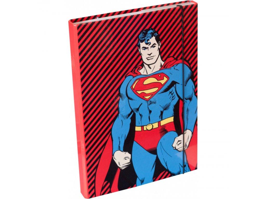 63648 1 baagl desky na skolni sesity a4 superman