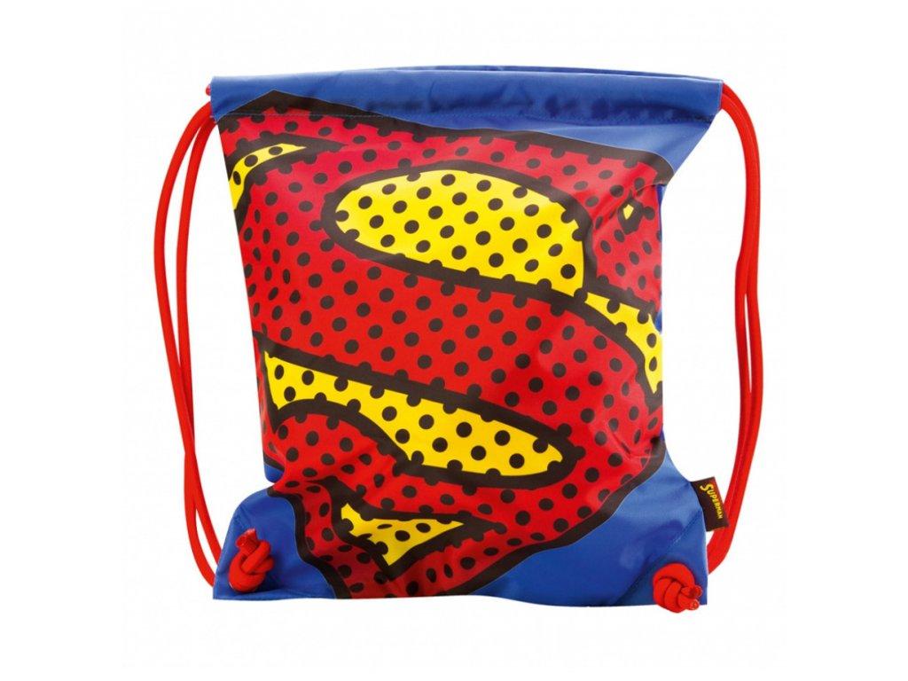 63642 3 baagl sacek na obuv superman pop