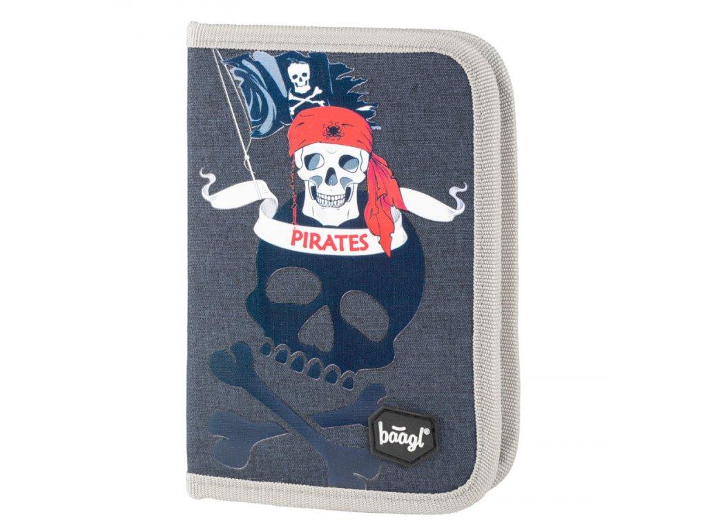 61980 3 baagl skolni penal klasik pirati