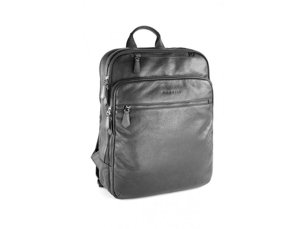 169423 3 batoh bugatti citta leather black