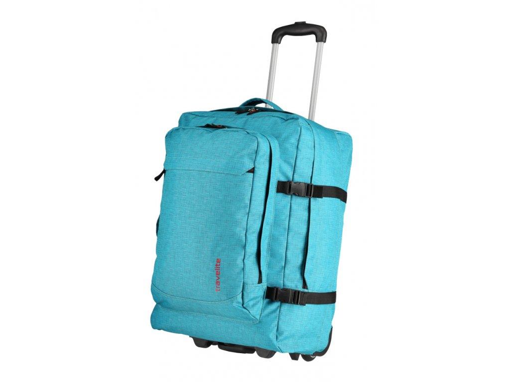 172885 12 batoh na koleckach travelite basics tyrkysova