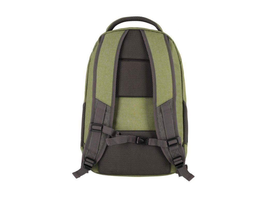167086 2 batoh travelite basics melange green grey