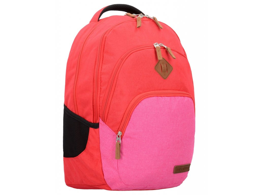 168256 4 batoh travelite neopak red pink