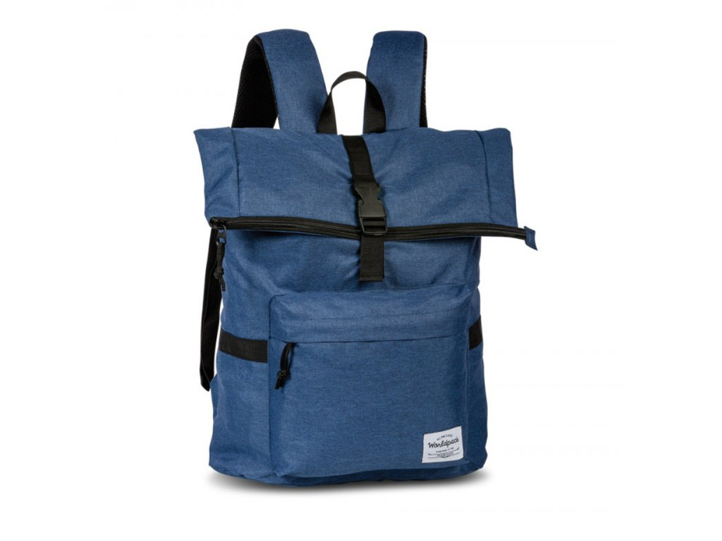 171553 1 batoh worldpack melange zip blue