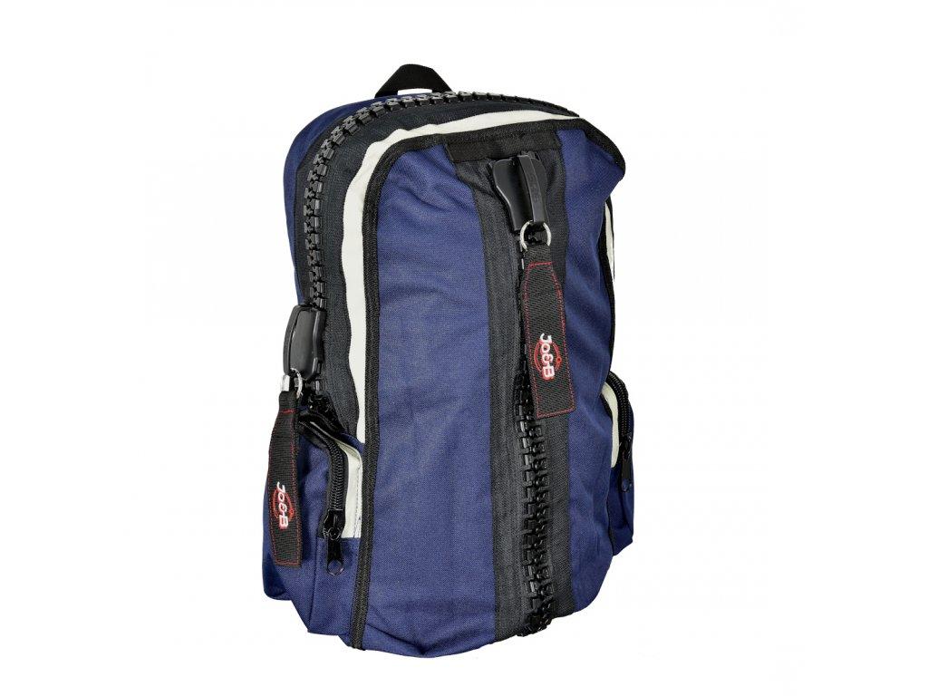 177352 3 batoh zipper modra
