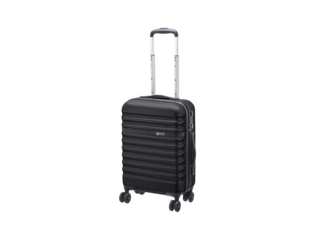 169372 3 cestovni kufr bugatti corium s black