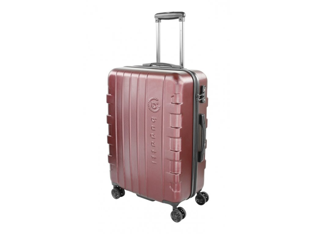 169360 8 cestovni kufr bugatti galatea m red