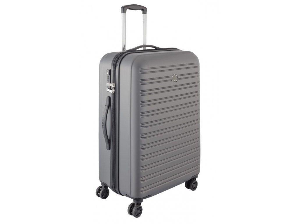 170623 8 cestovni kufr delsey segur 70 grey