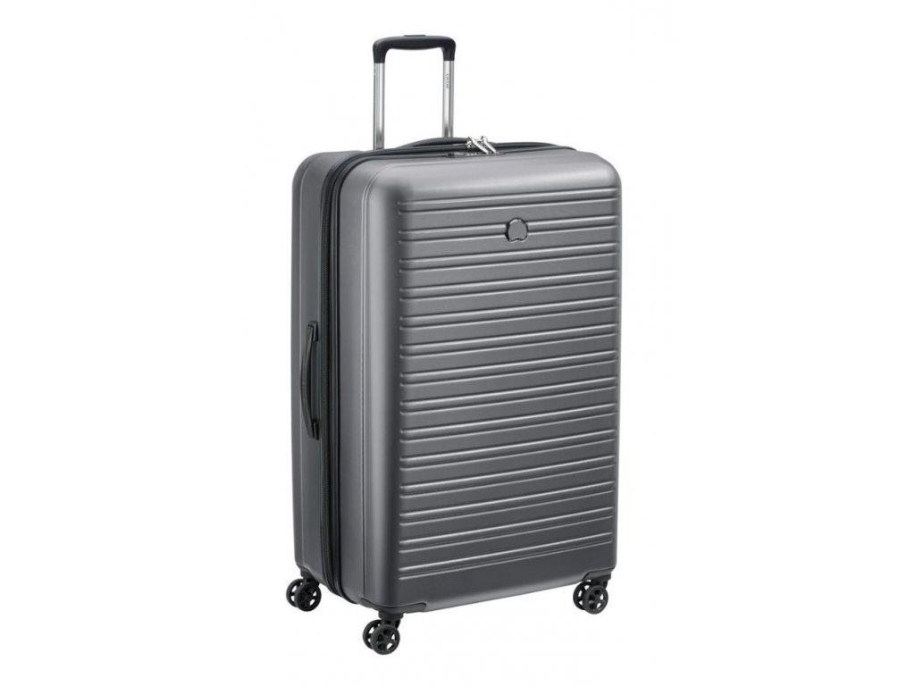 170632 8 cestovni kufr delsey segur 81 grey