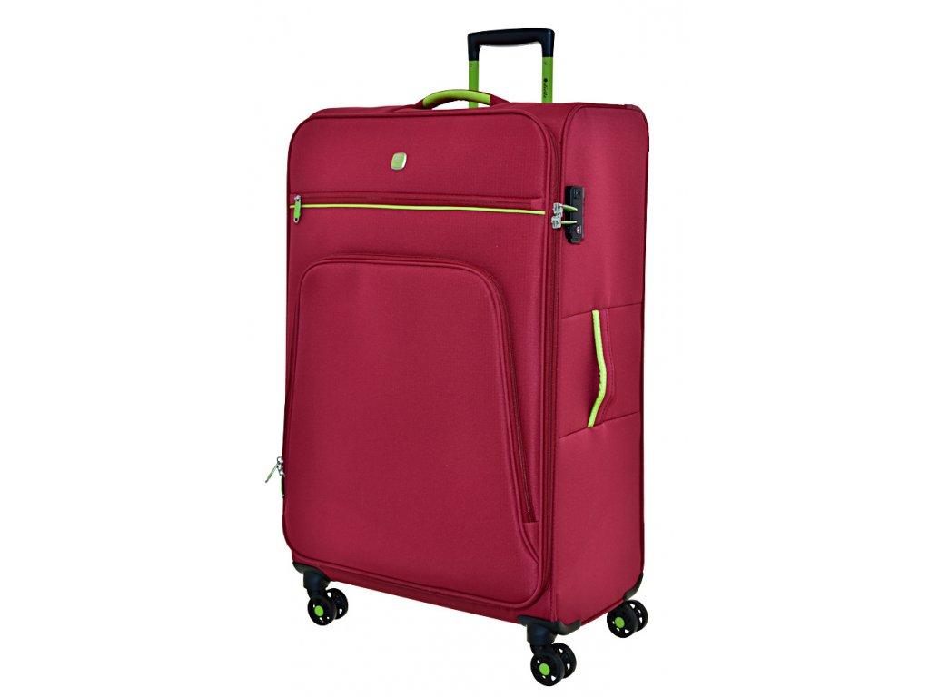 168745 7 cestovni kufr dielle 4w l red