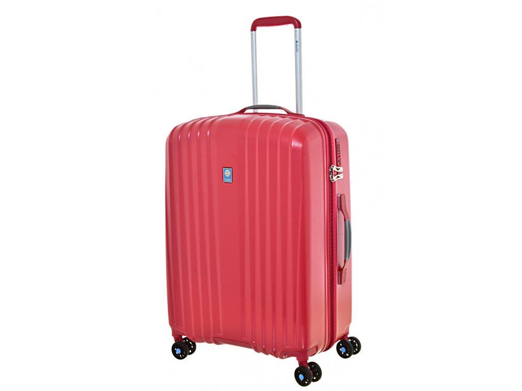 169447 8 cestovni kufr dielle 4w m red