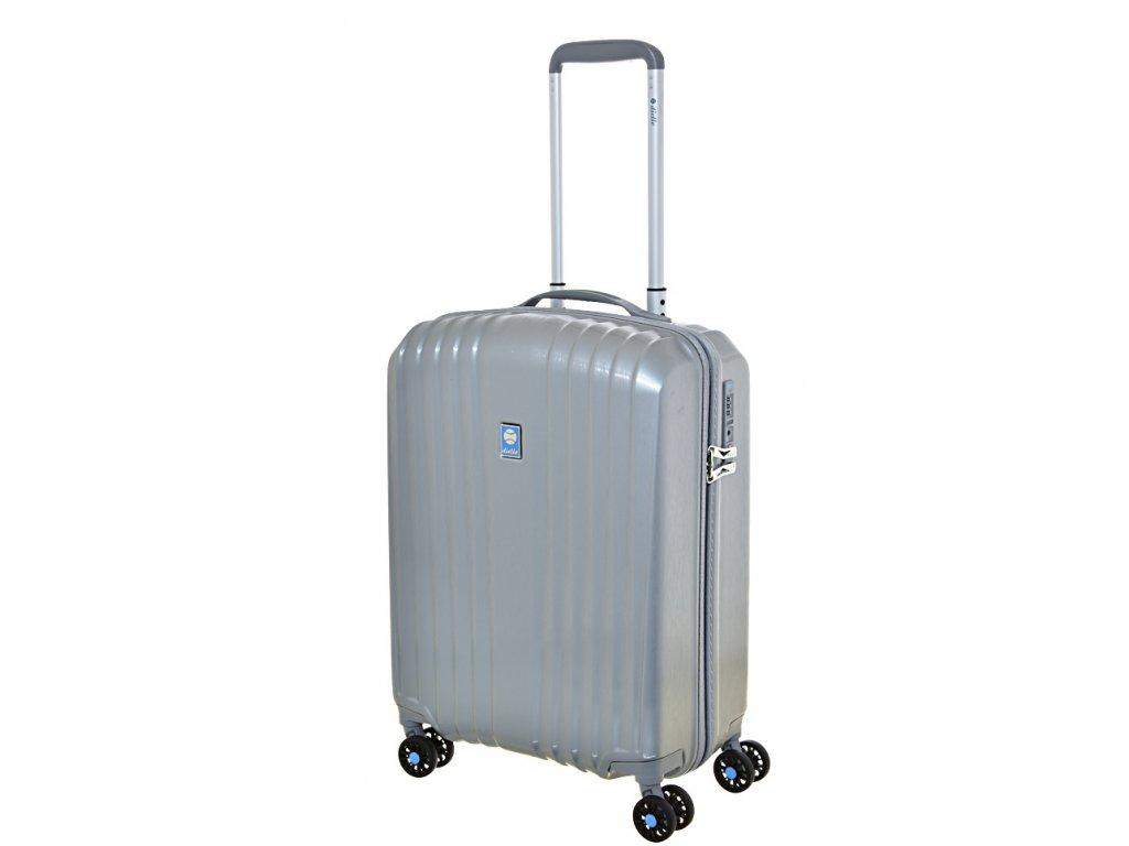 169462 7 cestovni kufr dielle 4w s grey