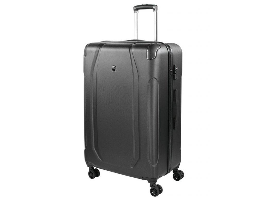 169351 8 cestovni kufr head hard 13 4w l dark grey