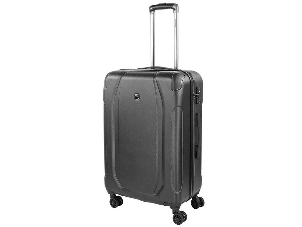 169348 7 cestovni kufr head hard 13 4w m dark grey