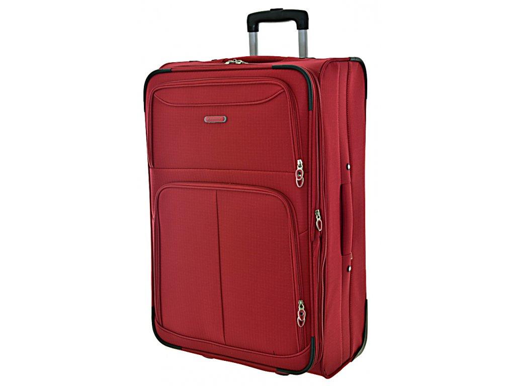 169084 5 cestovni kufr madisson 2w l red
