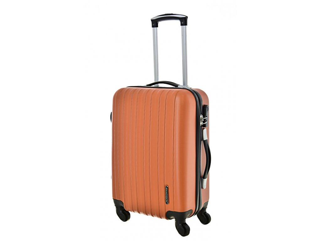 167839 4 cestovni kufr madisson 4w s orange
