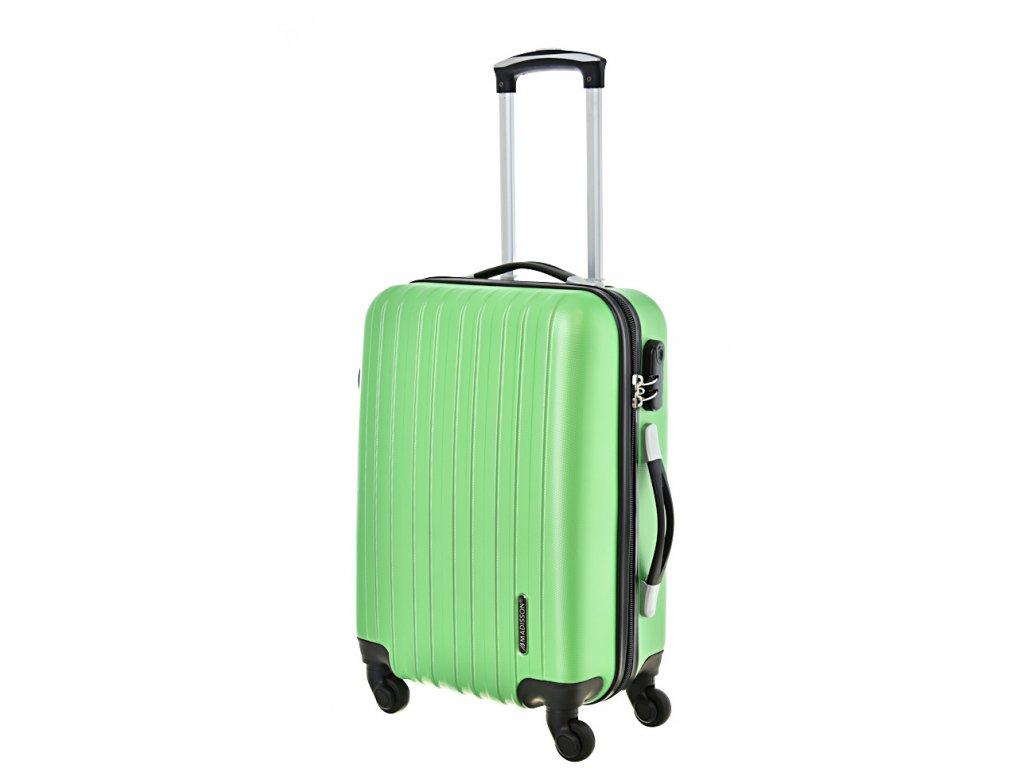 168034 4 cestovni kufr madisson 4w s green