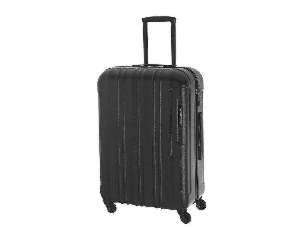 165955 6 cestovni kufr march cosmopolitan m black alu