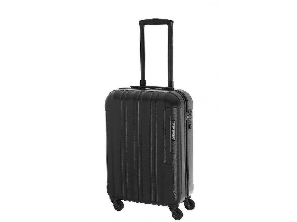 165952 6 cestovni kufr march cosmopolitan s black alu