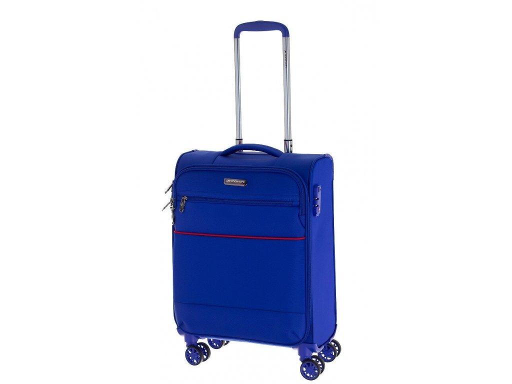 166582 6 cestovni kufr march easy s cobalt blue