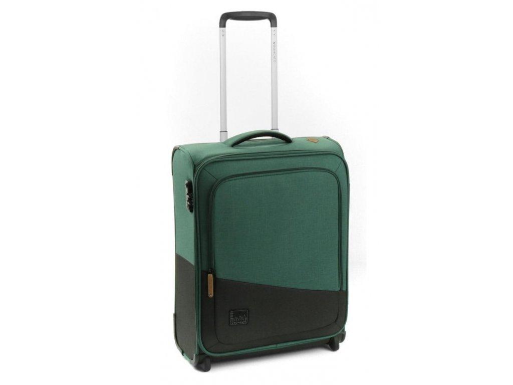 169609 6 cestovni kufr roncato adventure 2w s green