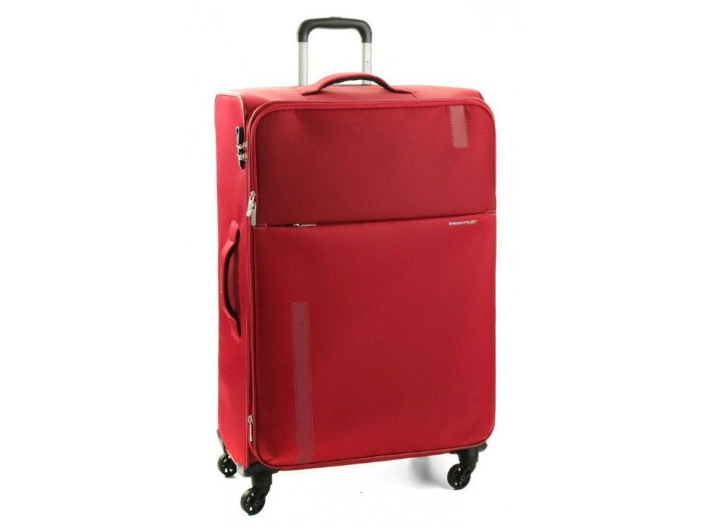 169669 5 cestovni kufr roncato speed 4w l red