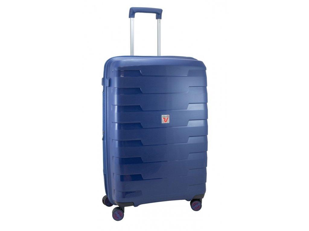 170089 6 cestovni kufr roncato spirit m blue