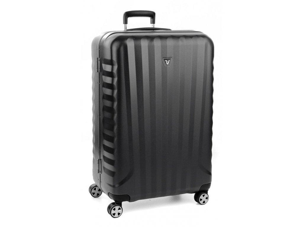 169696 6 cestovni kufr roncato uno dlx l black
